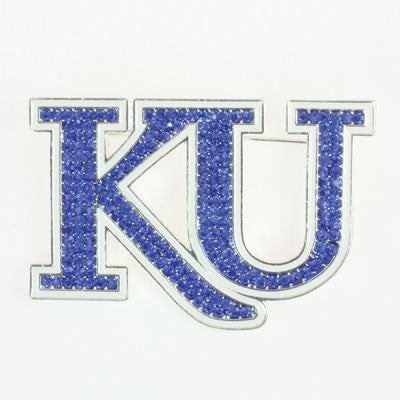 Seasons Jewelry Kansas Crystal Pin