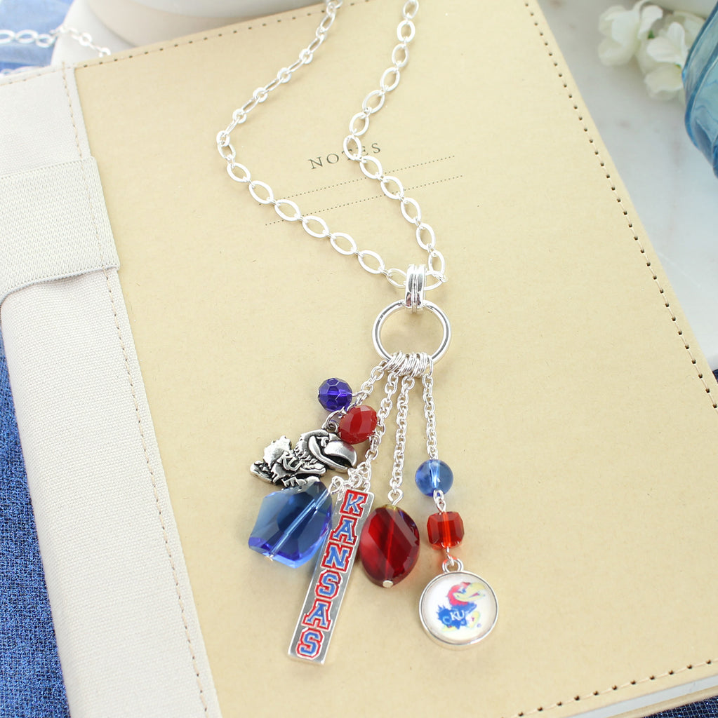 Kansas Cluster Necklace