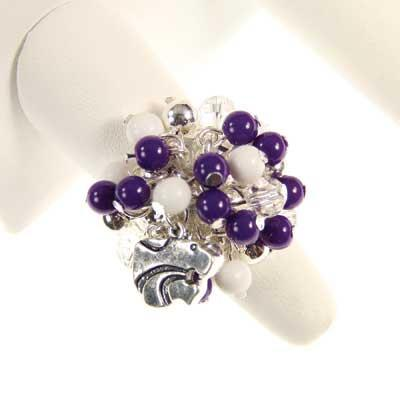 Seasons Jewelry Kansas State Logo Bauble Ring