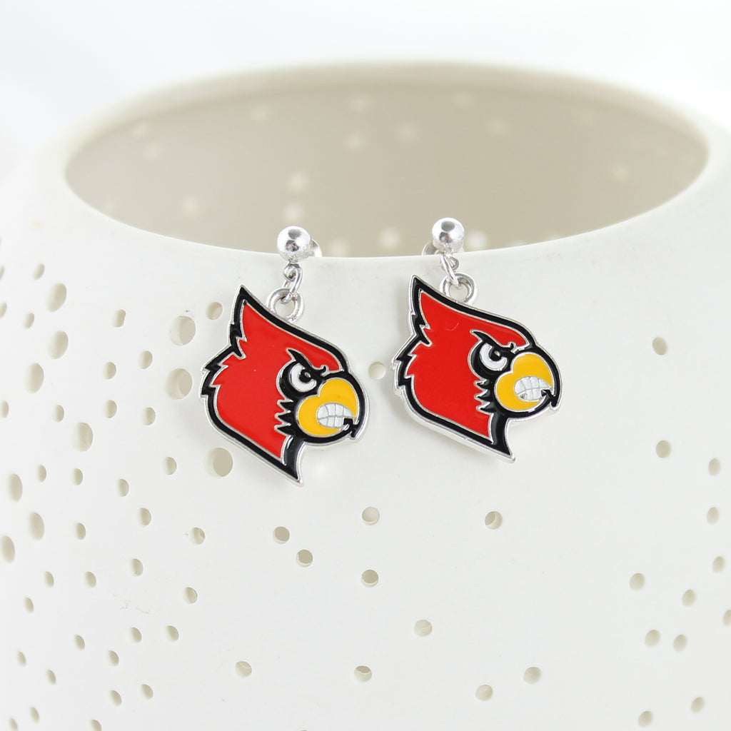 Louisville Enamel Logo Earrings