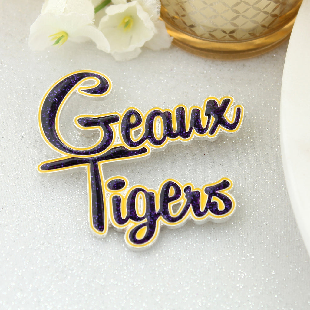 LSU Slogan Pin