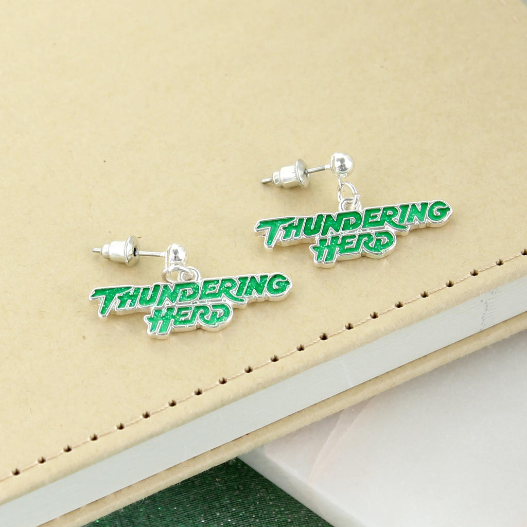 Marshall Slogan Earrings