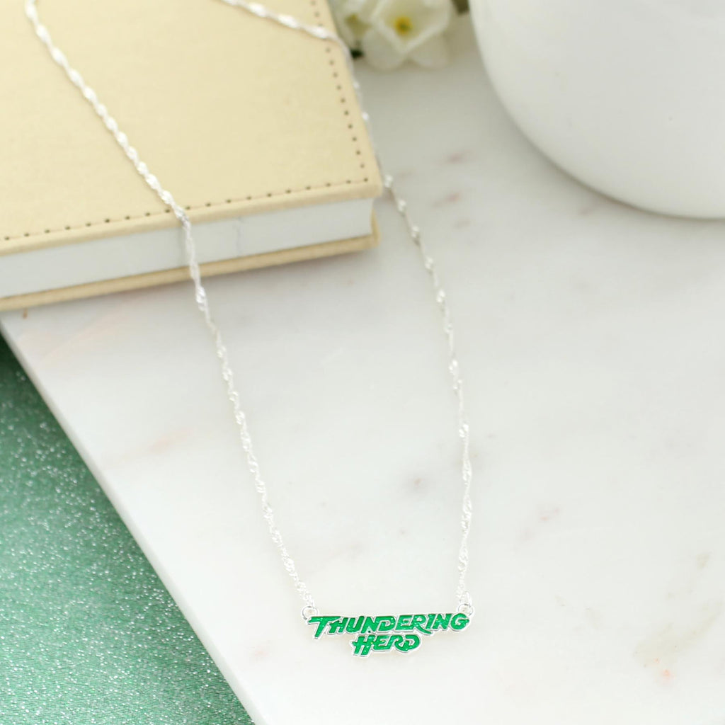"17"" Marshall Slogan Necklace"