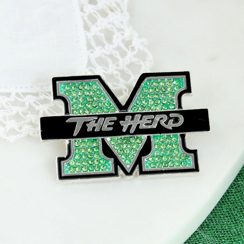 Marshall Crystal Pin