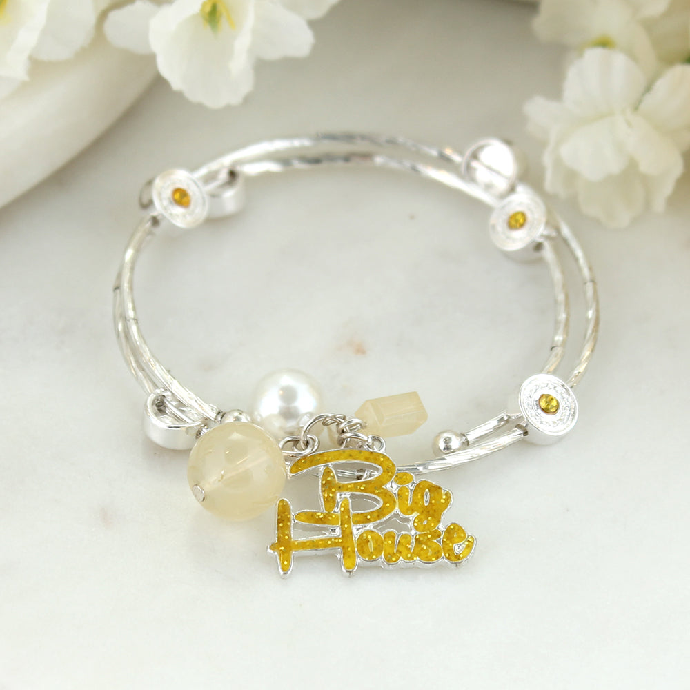 Michigan Slogan Bracelet