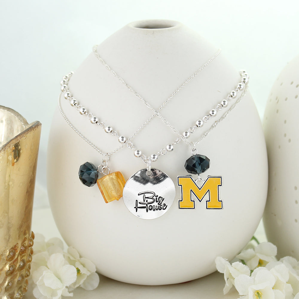 Michigan Trio Necklace Set