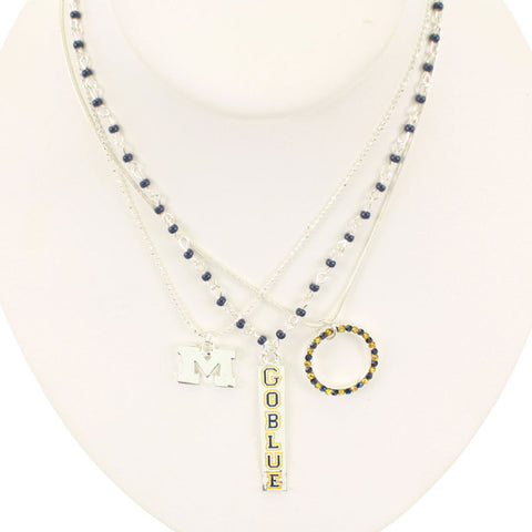 Seasons Jewelry Michigan Trio Necklace