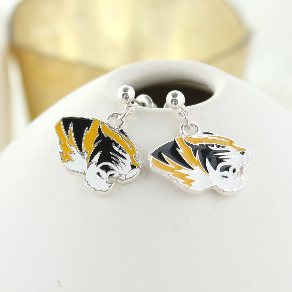 Missouri Enamel Earrings
