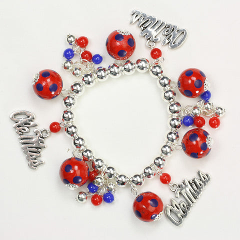 Mississippi Bauble Stretch Bracelet