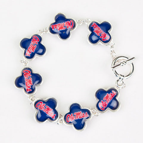 Seasons Jewelry Mississippi Quatrefoil Bracelet