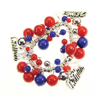 Seasons Jewelry Mississippi Logo Bauble Bracelet
