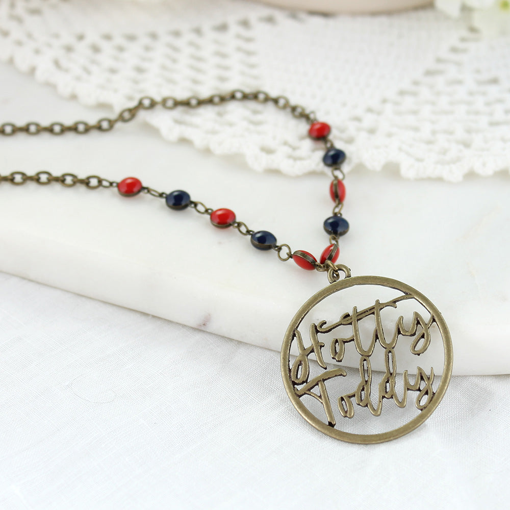 "34"" Mississippi Vintage Style Cutout Slogan Necklace"