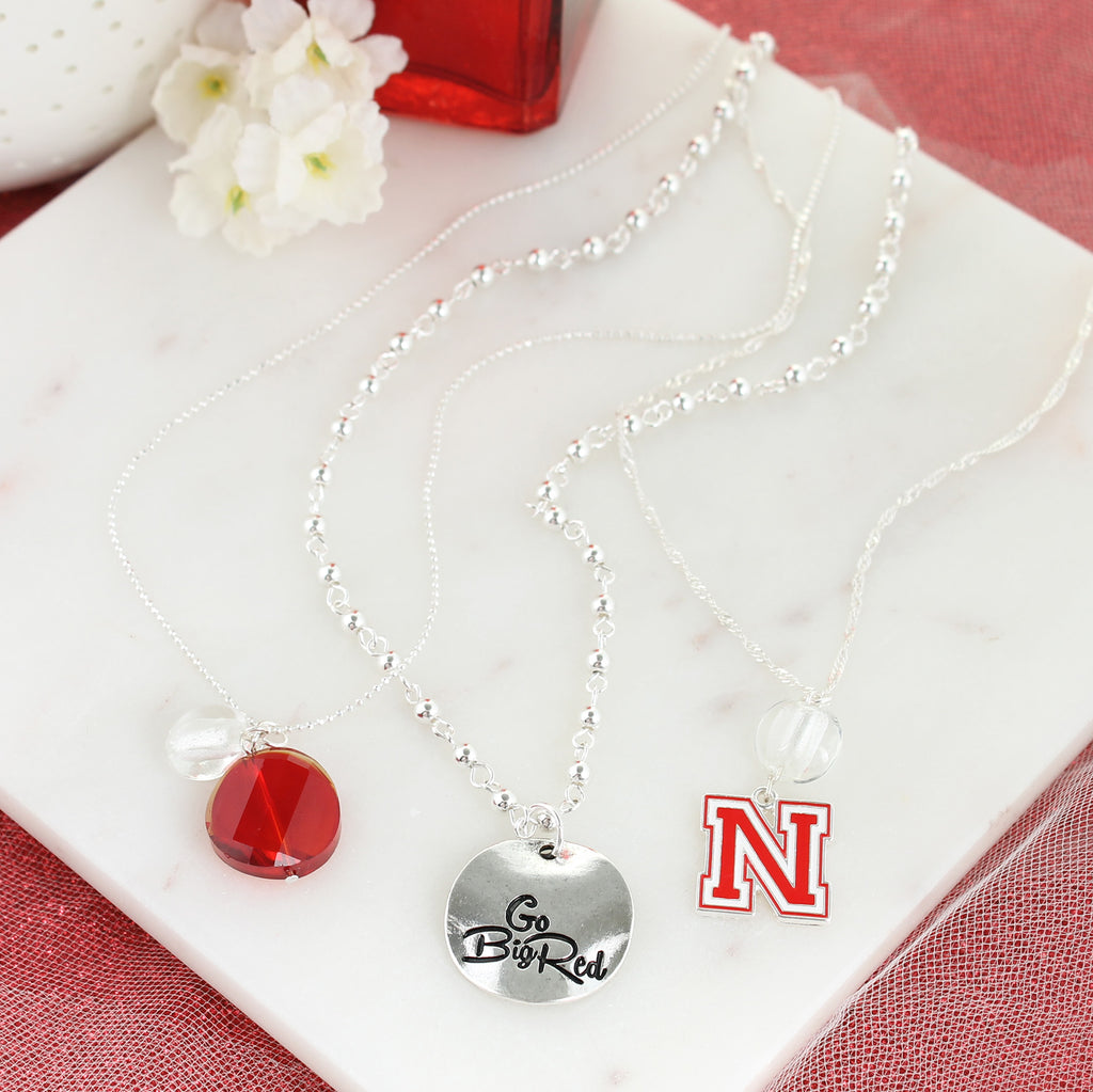 Nebraska Trio Necklace Set