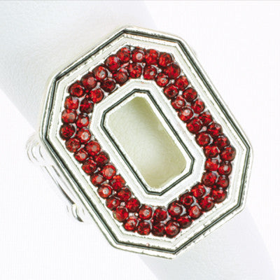 Seasons Jewelry Ohio State Stretch Ring
