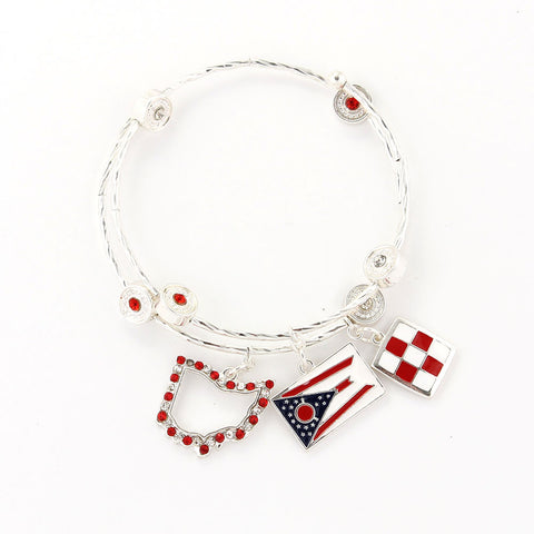 Ohio State Traditions Wrap Bracelet