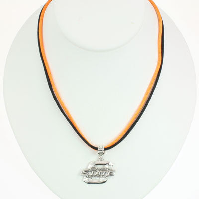 Seasons Jewelry Oklahoma State 16 inch Necklace