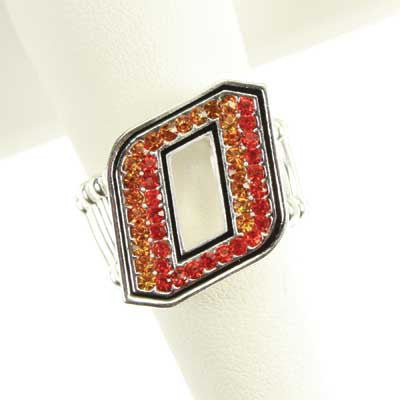 Seasons Jewelry Oklahoma State Stretch Ring