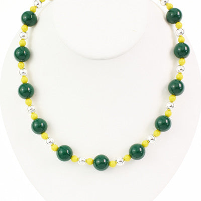 Seasons Jewelry Oregon Beaded Stretch Necklace