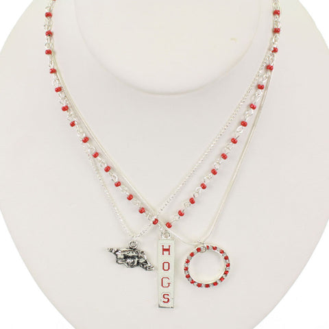 Seasons Jewelry Arkansas Trio Necklace Set