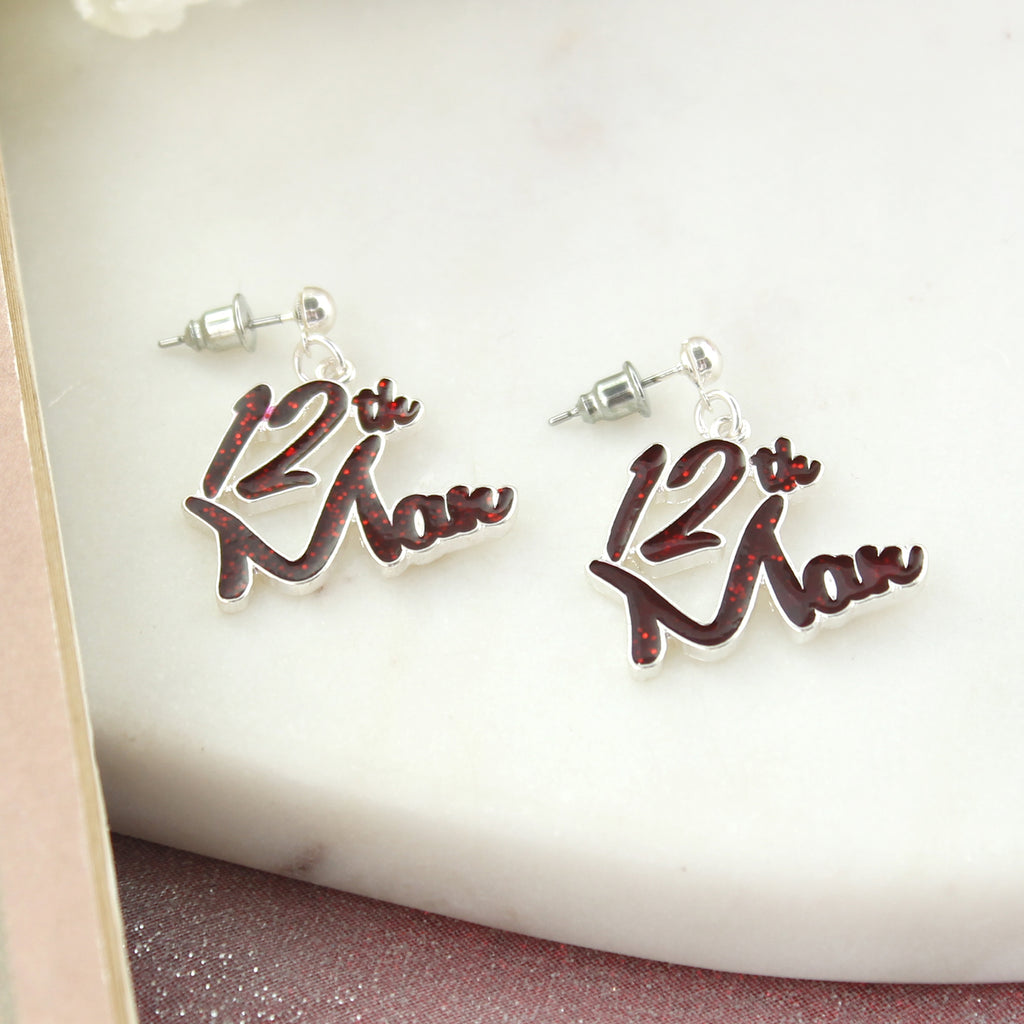 Texas A&M Slogan Earrings