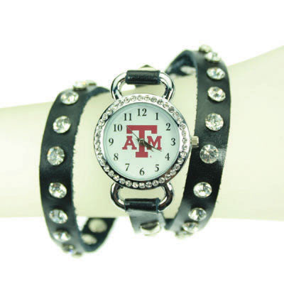 Seasons Jewelry Texas A&M Logo Wrap Wtach