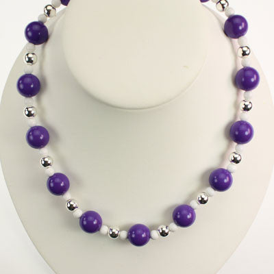 Seasons Jewelry TCU Beaded Stretch Necklace