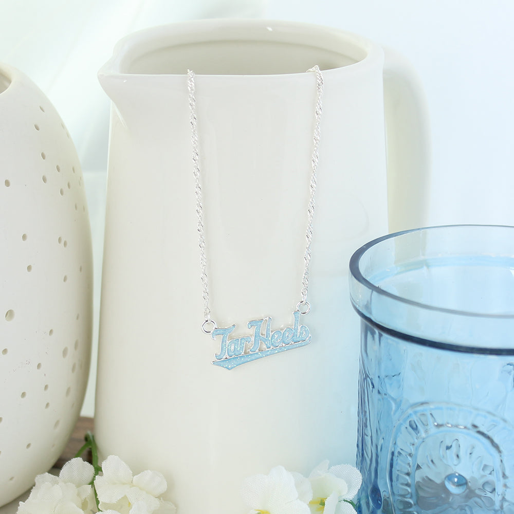 North Carolina Slogan Necklace