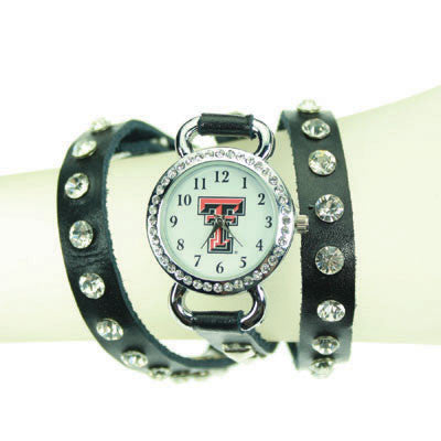 Seasons Jewelry Texas Tech Logo Wrap Watch