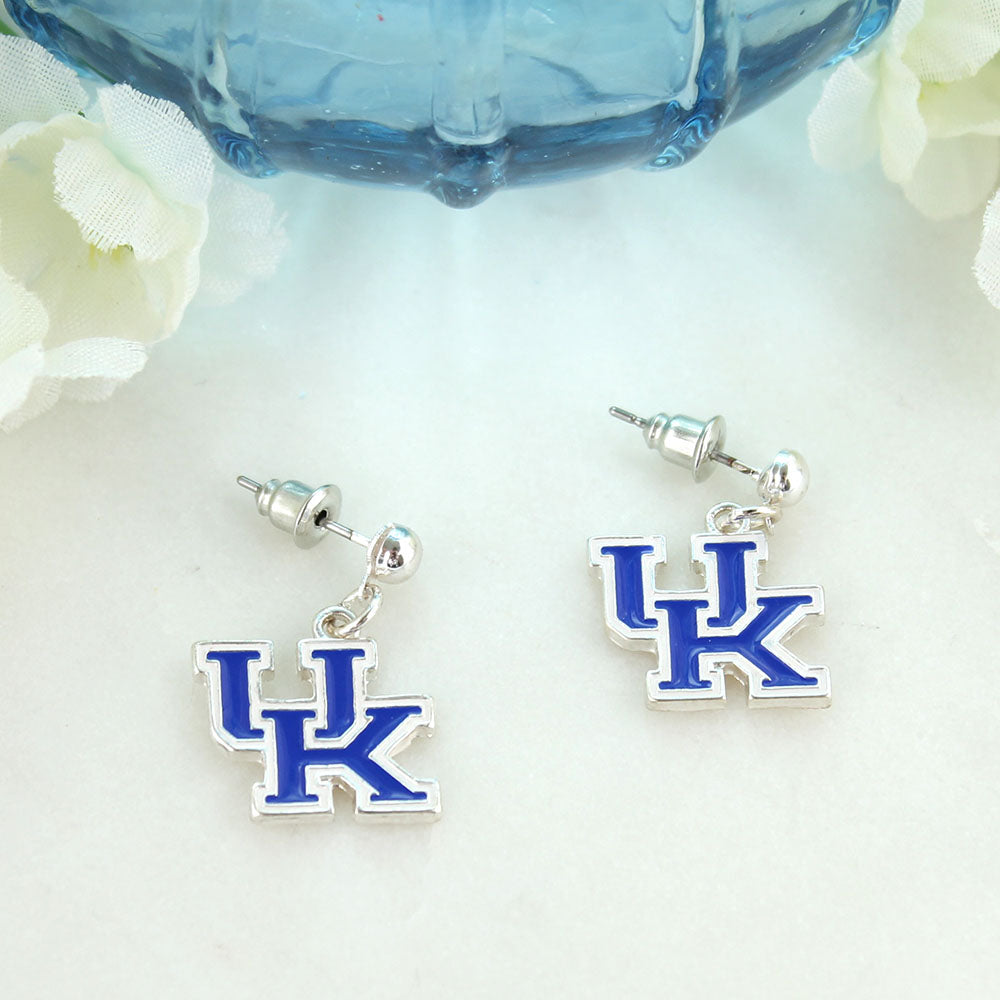 Kentucky Enamel Logo Earrings