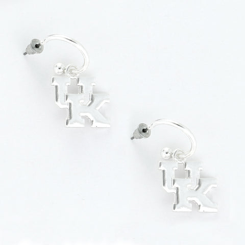 Kentucky Logo Hoop Earring