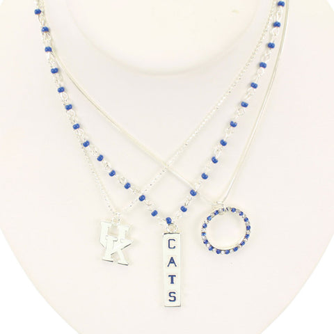 Seasons Jewelry Kentucky Trio Necklace