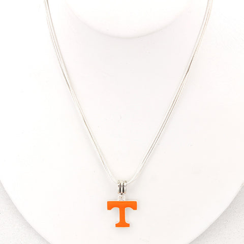 Tennessee Enamel Logo Necklace