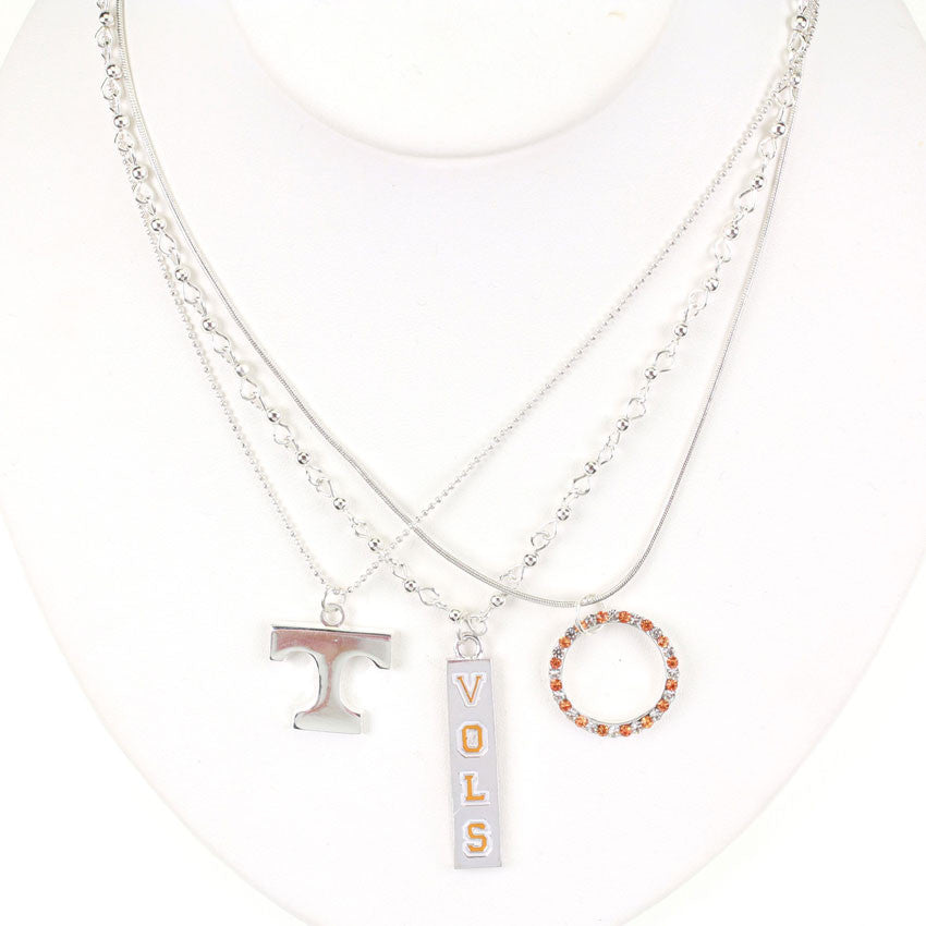 Seasons Jewelry Tennessee Trio Necklace