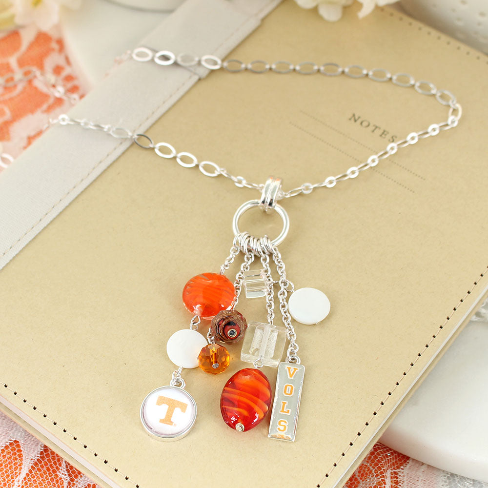 Tennessee Cluster Necklace