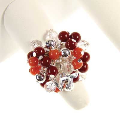 Seasons Jewelry Virginia Tech Logo Bauble Ring