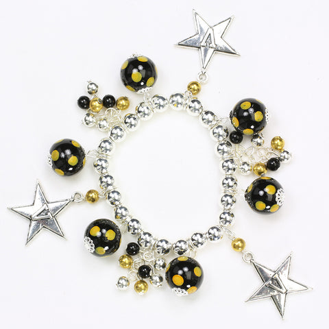 Vanderbilt Bauble Stretch Bracelet