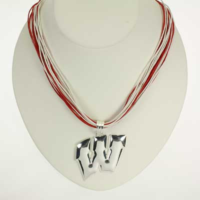 Seasons Jewelry Wisconsin Logo Multi-Cord 18