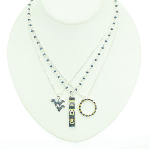 Seasons Jewelry West Virginia Trio Necklace