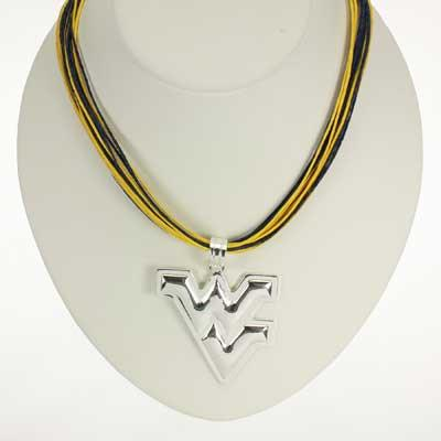 Seasons Jewelry West Virginia Logo Multi-Cord 18