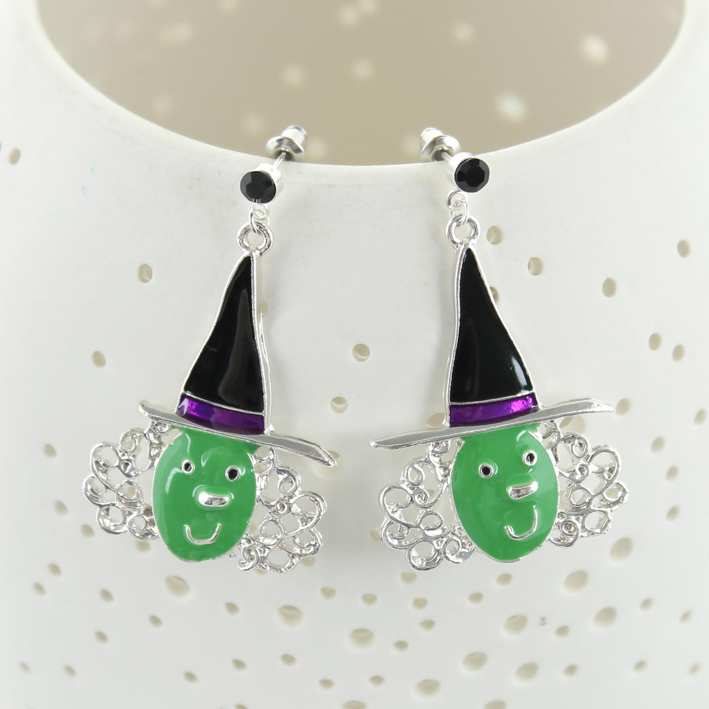 Witch Face Earrings