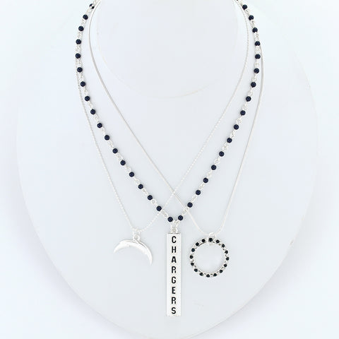 San Diego Chargers Trio Necklace Set