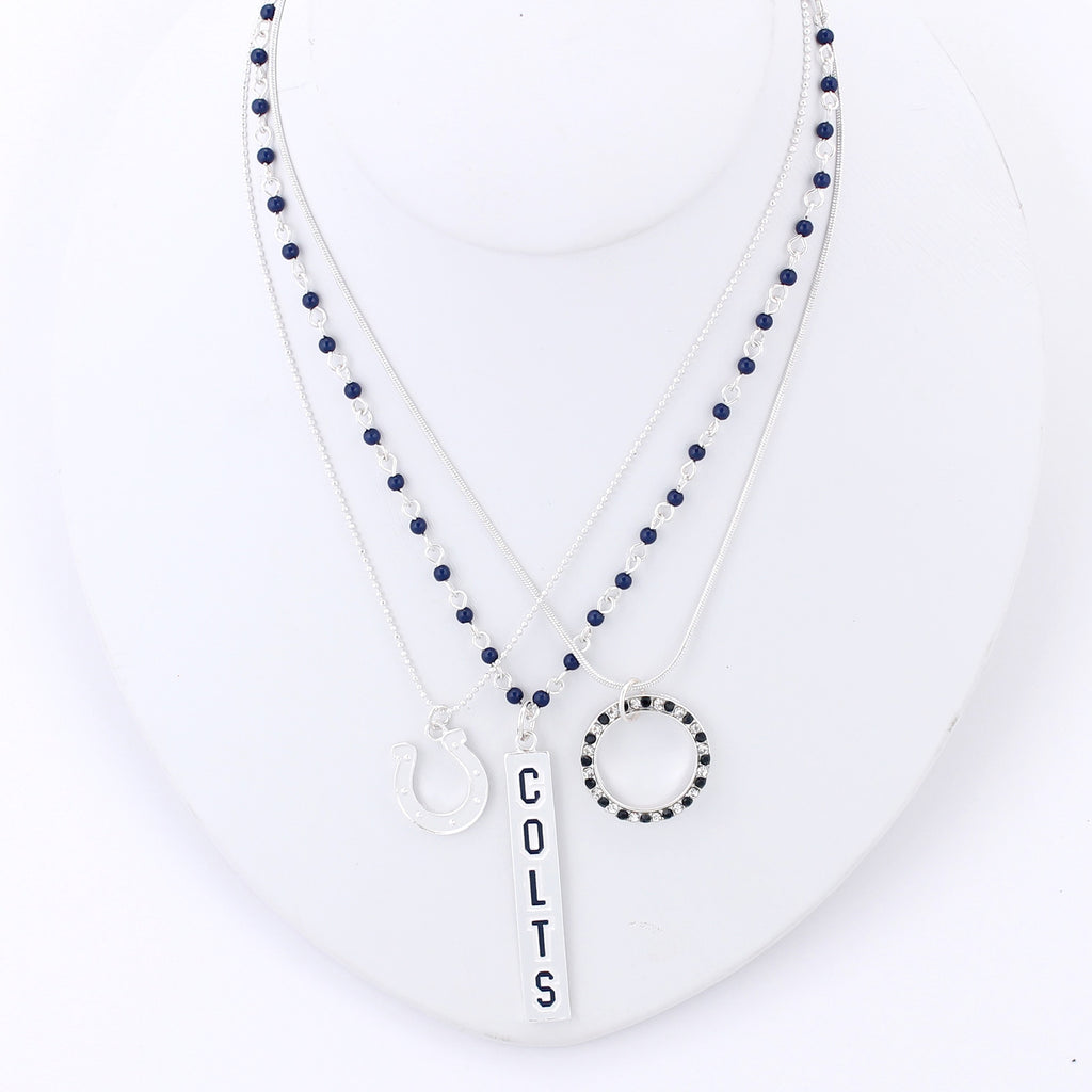 Indianapolis Colts Trio Necklace Set