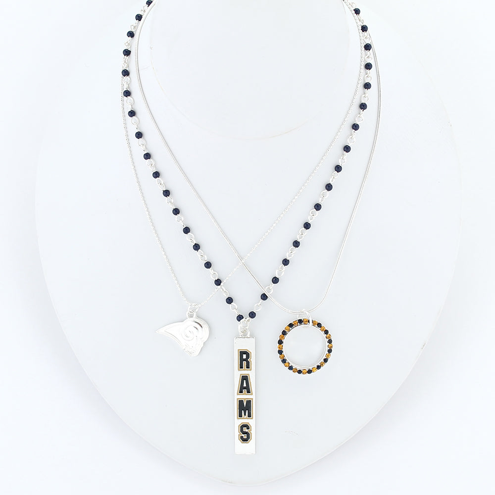 Los Angeles Rams Trio Necklace Set
