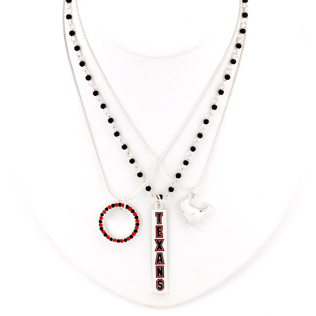 Houston Texans Trio Necklace Set