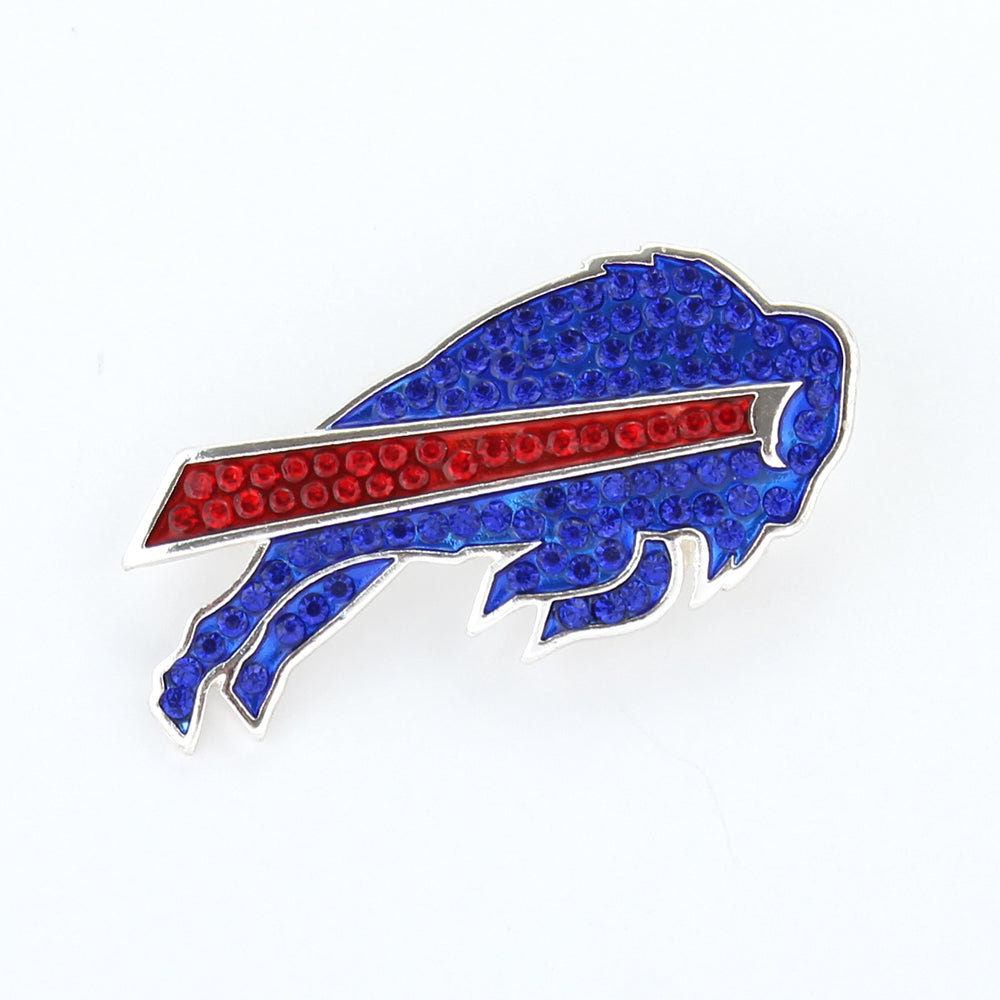 Buffalo Bills Crystal Logo Pin
