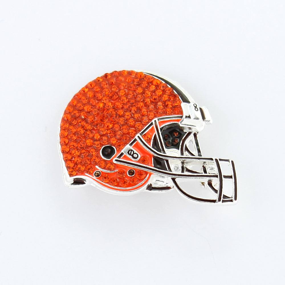 Cleveland Browns Crystal Logo Pin