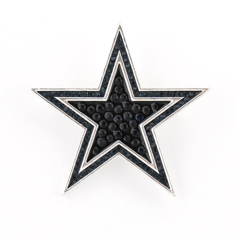 Dallas Cowboys Crystal Logo Pin