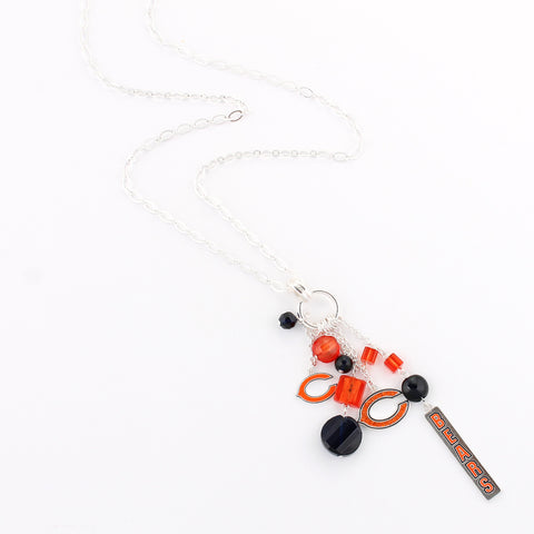 Chicago Bears Cluster Necklace