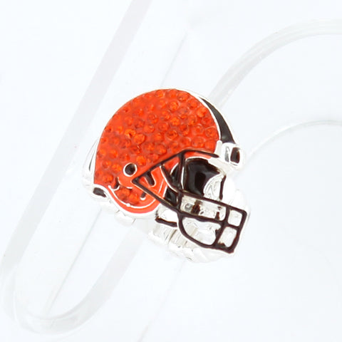 Cleveland Browns Crystal Logo Stretch Ring