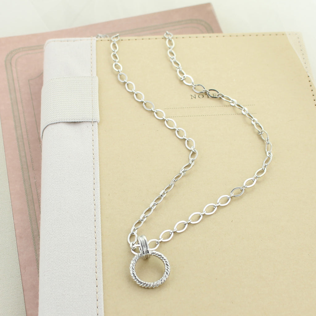 "18"" Silver Chain Necklace"